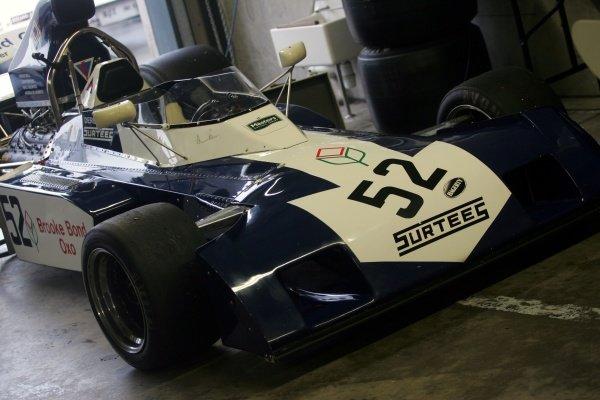 John Monsoni (ESP) Surtees TS9B Historic Car Racing, Donington, England, 20 April 2008