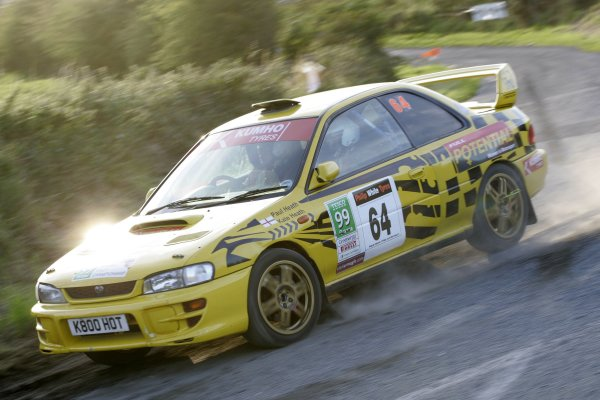 2006 British Rally ChampionshipUlster Rally, Armagh.2nd September 2006Kate HeathWorld Copyright - Ebrey/LAT Photographic