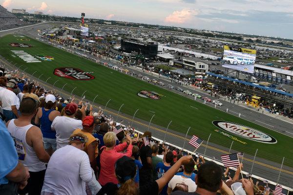 30 June-2 July, 2016, Daytona Beach, Florida USA Pre race salute to the Military ?2016, Nigel Kinrade LAT Photo USA