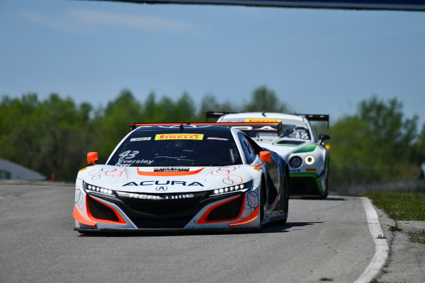 Pirelli World Challenge Victoria Day SpeedFest Weekend Canadian Tire Motorsport Park, Mosport, ON CAN Saturday 20 May 2017 Ryan Eversley/ Tom Dyer World Copyright: Richard Dole/LAT Images ref: Digital Image RD_CTMP_PWC17056