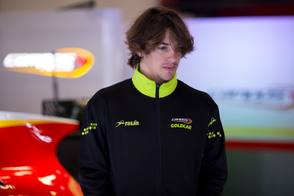 Circuit de Barcelona Catalunya, Barcelona, Spain. Wednesday 15 March 2017. Roberto Merhi (ESP, Campos Racing). Photo: Alastair Staley/FIA Formula 2 ref: Digital Image 585A9073