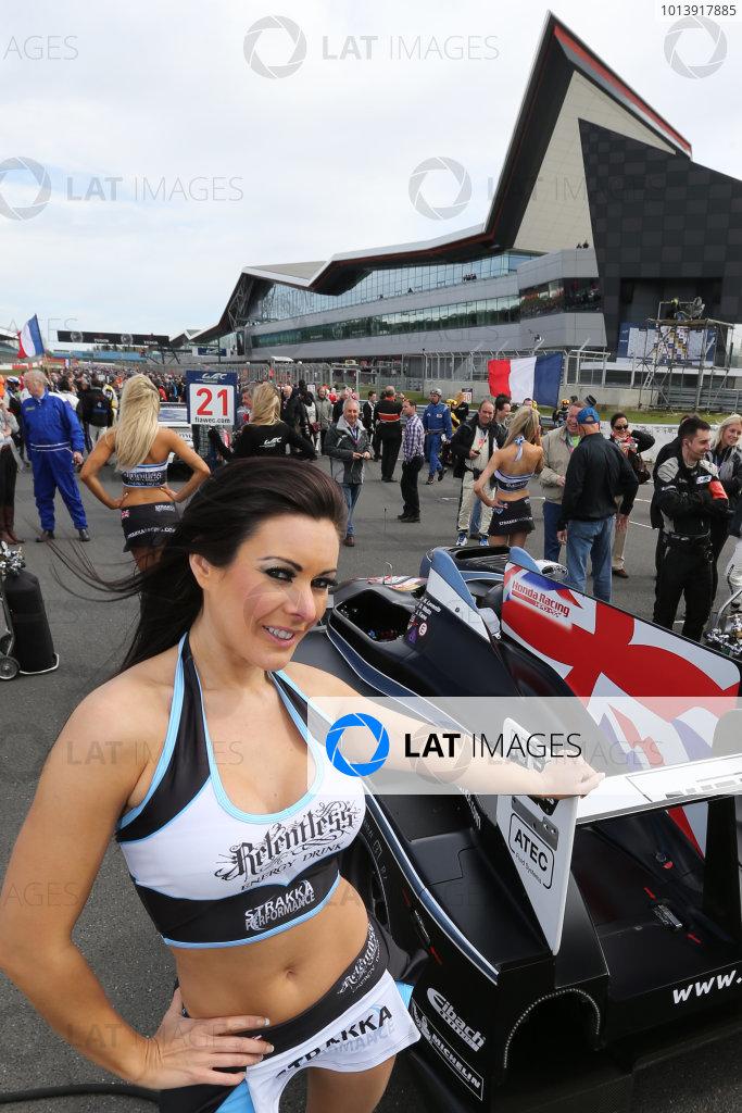 2013 FIA WEC Championship, Silverstone, Northamptonshire. 12th - 14th April 2013. Strakka Girls, World Copyright: Ebrey / LAT Photographic.