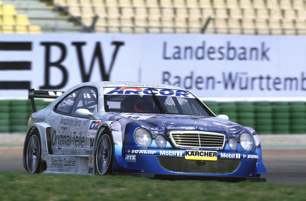 2001 DTM Testing