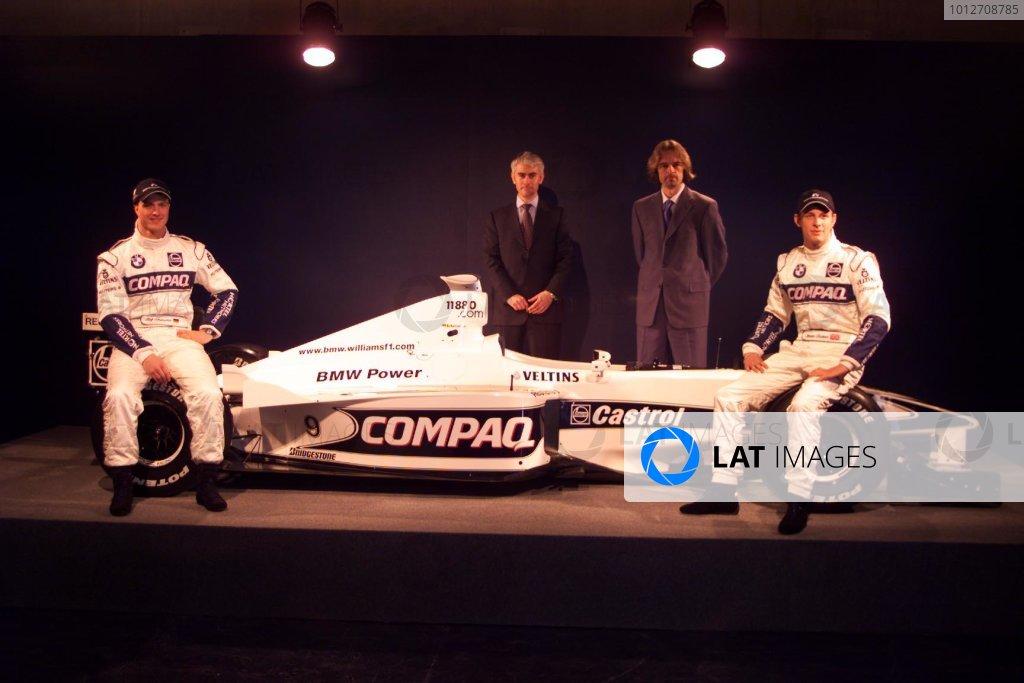 BMW Williams F1 Team Launch 2000.
