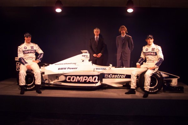 BMW Williams F1 Team Launch 2000.