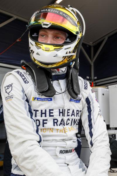 #23 Heart Of Racing Team Aston Martin Vantage GT3, GTD: Roman De Angelis