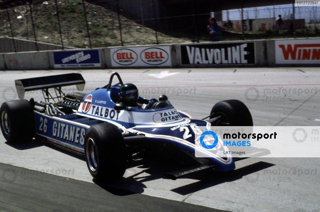 1981 United States Grand Prix West.