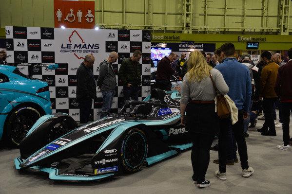 A Jaguar Formula E car.