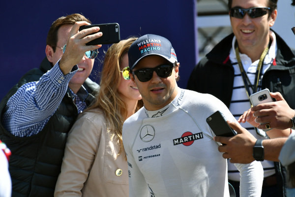 Felipe Massa (BRA) Williams at Formula One World Championship, Rd19, Mexican Grand Prix, Qualifying, Circuit Hermanos Rodriguez, Mexico City, Mexico, Saturday 29 October 2016.
