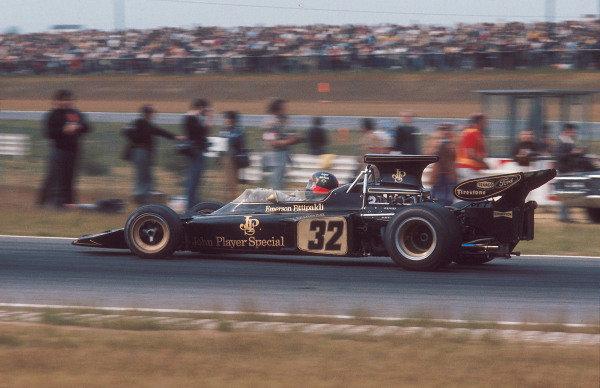 1972 Belgian Grand Prix.Nivelles-Baulers, Belgium.2-4 June 1972.Emerson Fittipaldi (Lotus 72D Ford) 1st position.Ref-72 BEL 39.World Copyright - LAT Photographic
