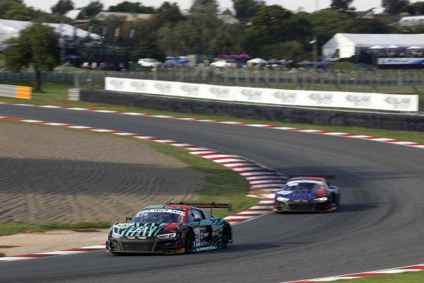 #29 Audi Sport Team Land Audi R8 LMS GT3 2019: Christopher Haase, Christopher Mies, Markus Winkelhock.
