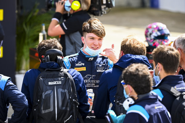 Race winner Dan Ticktum (GBR, DAMS) in Parc Ferme