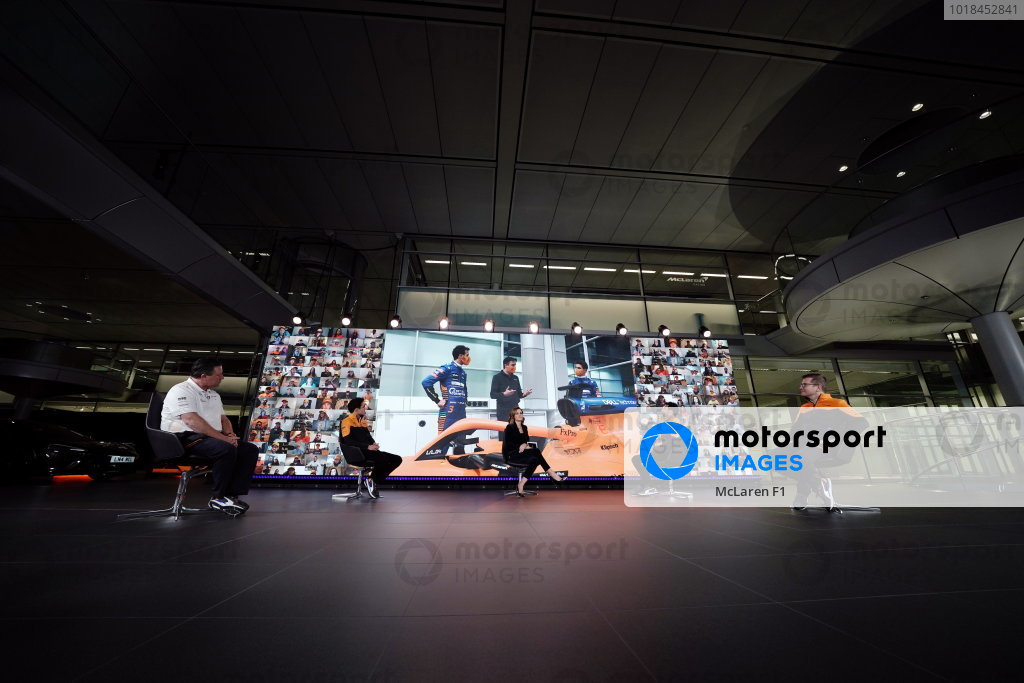 McLaren MCL35M Launch