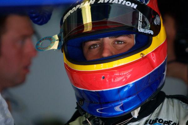 2001 Malaysian Grand Prix.Sepang, Kuala Lumpur, Malaysia. 16-18 March 2001.Fernando Alonso (Minardi European).World Copyright - Steve Etherington/LAT Photographic.ref: 18mb Digital Image