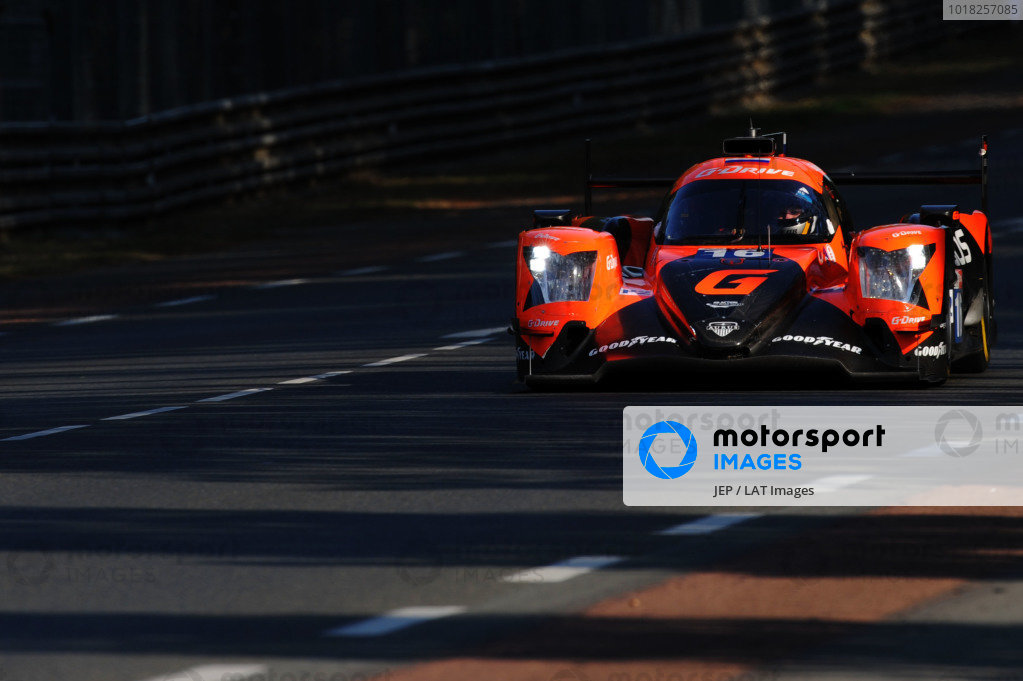 #16 G-Drive Racing by Algarve Oreca 07 - Gibson: Ryan Cullen / Oliver Jarvis / Nick Tandy