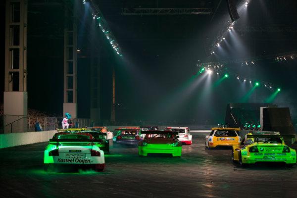 Autosport International Exhibition. National Exhibition Centre, Birmingham, UK. Sunday 11 January 2015. The Live Action Arena. World Copyright: Zak Mauger/LAT Photographic. ref: Digital Image _L0U5019