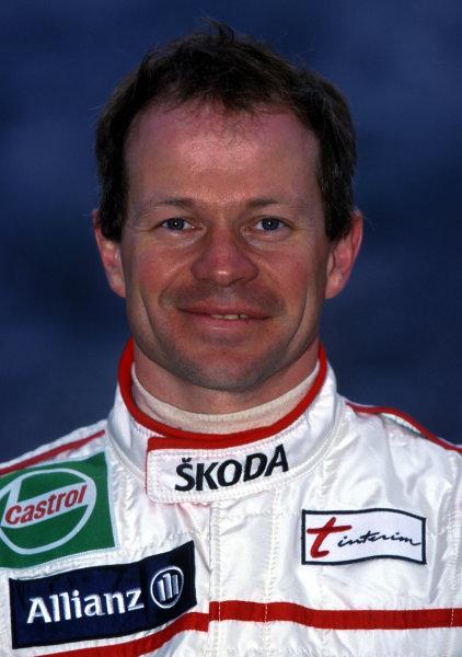 2001 World Rally Championship. Monte Carlo Rally,  Monaco. 18th -21st January 2001. Rd 1. Bruno Thiry, portrait. World Copyright: Ralph Hardwick/ LAT Photographic. Ref: Bruno1