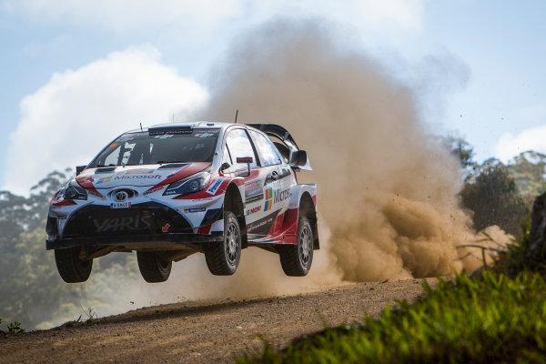 2017 FIA World Rally Championship, Round 13, Rally Australia 2017, 16-19 November 2017, Jari-Matti Latvala, Toyota, action, Worldwide Copyright: LAT/McKlein
