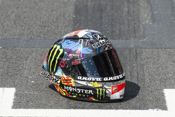 Helmet of Jorge Lorenzo, Ducati Team.