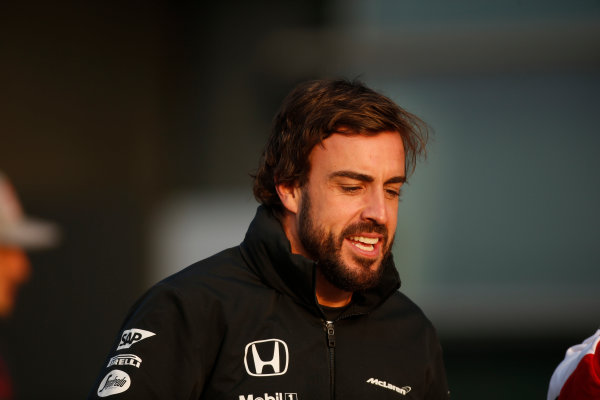 Shanghai International Circuit, Shanghai, China. Friday 10 April 2015. Fernando Alonso, McLaren. World Copyright: Glenn Dunbar/LAT Photographic. ref: Digital Image _W2Q2967