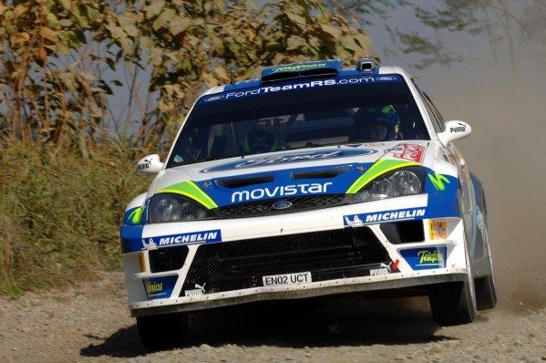 2005 FIA World Rally Championship, Rally Japan, September 29 - October 2, 2005.Obihiro, Japan.ShakedownDaniel Sola (ESP)Digital Image
