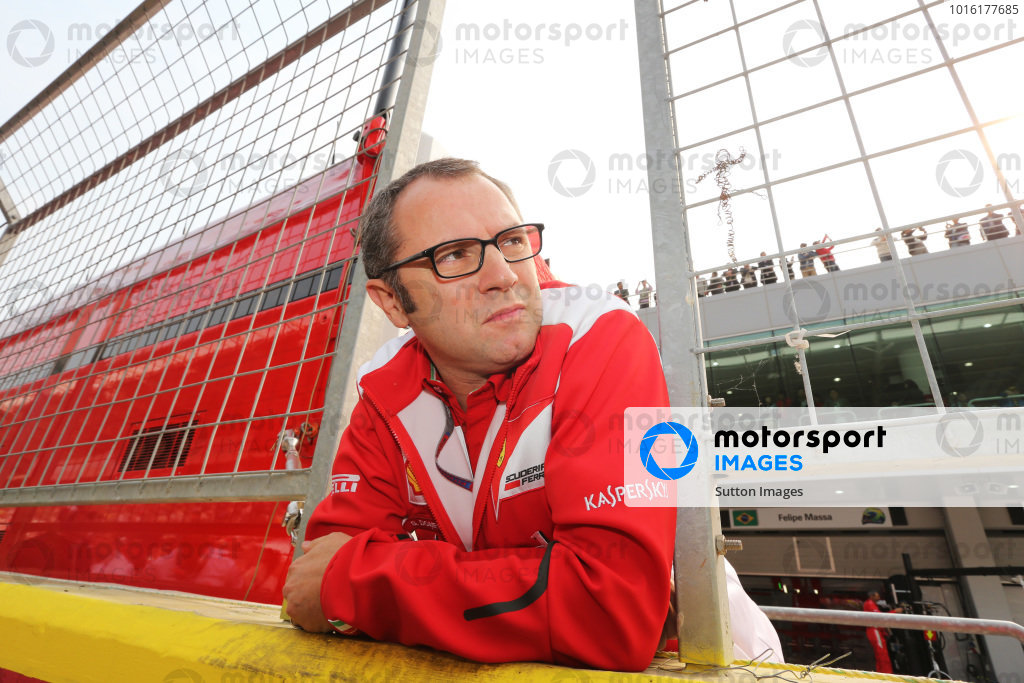 Stefano Domenicali (ITA) Ferrari General Director on the grid. Formula One World Championship, Rd16, Korean Grand Prix, Race, Korea International Circuit, Yeongam, South Korea, Sunday 14 October 2012.