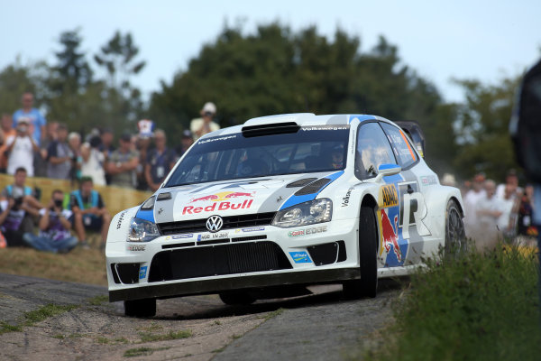 2013 FIA World Rally Championship Round 09-Rally Germany 21-25/8 2013. Sebastien Ogier, VW, Action  Worldwide Copyright: McKlein/LAT