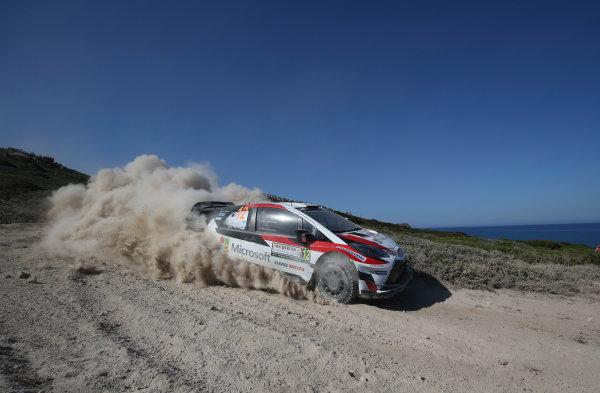 2017 FIA World Rally Championship, Round 07, Rally Italia Sardegna, June 8-11, 2017, Esapekka Lappi, Toyota, action Worldwide Copyright: McKlein/LAT