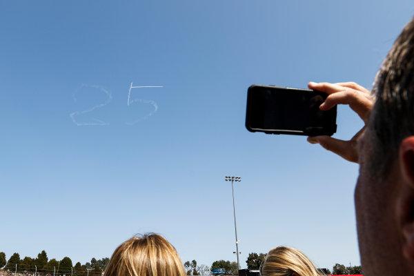 28-30 August, 2015, Sonoma, California USA Moment of silence for Justin Wilson ?2015, Sam Cobb LAT Photo USA
