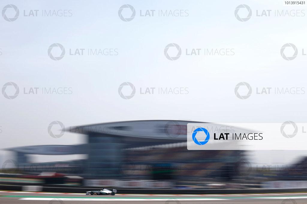 Shanghai International Circuit, Shanghai, China Saturday 13th April 2013 Nico Rosberg, Mercedes W04.  World Copyright: Glenn Dunbar/LAT Photographic ref: Digital Image _89P6205