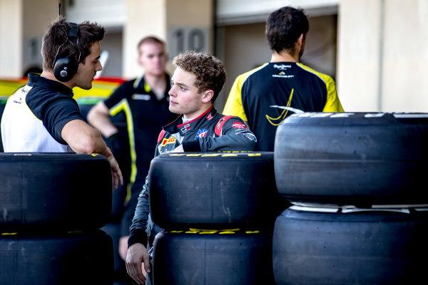 2016 GP3 Series Test 5. Yas Marina Circuit, Abu Dhabi, United Arab Emirates. Wednesday 30 November 2016. Santino Ferrucci (USA, DAMS)  Photo: Zak Mauger/GP3 Series Media Service. ref: Digital Image _X0W1808