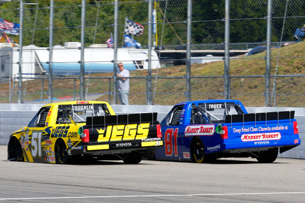 23-24 September, 2016, Loudon, New Hampshire USA Cody Coughlin and Ryan Truex ?2016, Russell LaBounty LAT Photo USA
