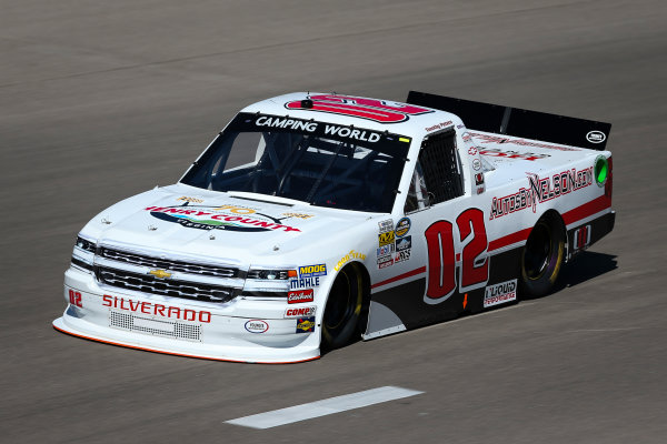 NASCAR Camping World Truck Series Las Vegas 350 Las Vegas Motor Speedway, Las Vegas, NV USA Saturday 30 September 2017 Timothy Peters, Randco/Young's Building Systems Chevrolet Silverado World Copyright: Barry Cantrell LAT Images