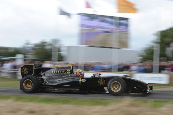 x England 28th June - 1st July 2012 Johnny Mowlem, Lotus Type 125. World Copyright: Jeff Bloxham/LAT Photographic Ref: Digital Image Only