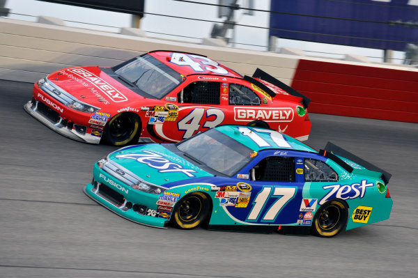 11-12 May, 2012, Darlington, South Carolina USAMatt Kenseth and Aric Almirola(c)2012, LAT SouthLAT Photo USA