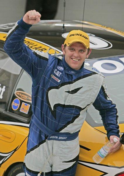 V8 Supercars Championship Round 12. V8 Supercars driver  Jason Bright wins the Desert 400 in Bahrainth. November 23-25, 2006. Mark Horsburgh