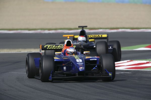 2006 GP2 Series. Round 7 . Magny-Cours, France. 16th July.Sunday Race Adam Carroll (GBR, Racing Engineering). Action.   World Copyright: Charles CoatesGP2 Series Media Service. ref: Digital Image ZK5Y9409