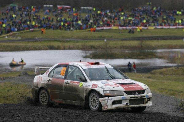 2006 British Rally Championship.Wales Rally GB. 1st-3rd December 2006.David Higgins.World Copyright: Ebrey/LAT Photographic.