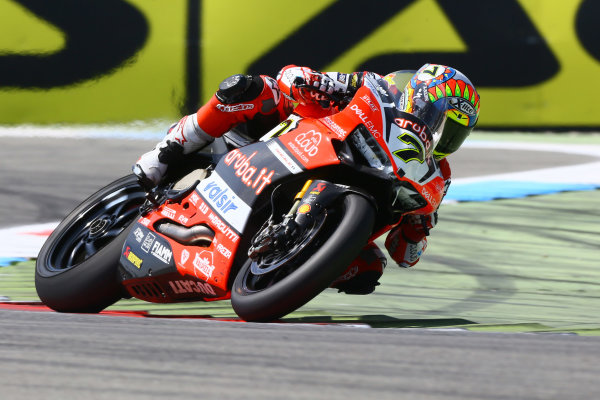 2017 Superbike World Championship - Round 4 Assen, Netherlands. Sunday 30 April 2017 Chaz Davies, Ducati Team World Copyright: Gold and Goose Photography/LAT Images ref: Digital Image WSBKrace-1325