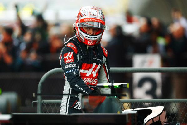 Shanghai International Circuit, Shanghai, China.  Sunday 09 April 2017.  Kevin Magnussen, Haas F1. World Copyright: Steven Tee/LAT Images  ref: Digital Image _O3I5325