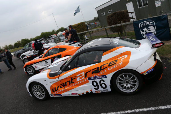 2017 Ginetta GT5 Championship Thruxton, 6th-7th May 2017,  Mike Jarvis Want2Race Ginetta G40 World copyright. JEP/LAT Images