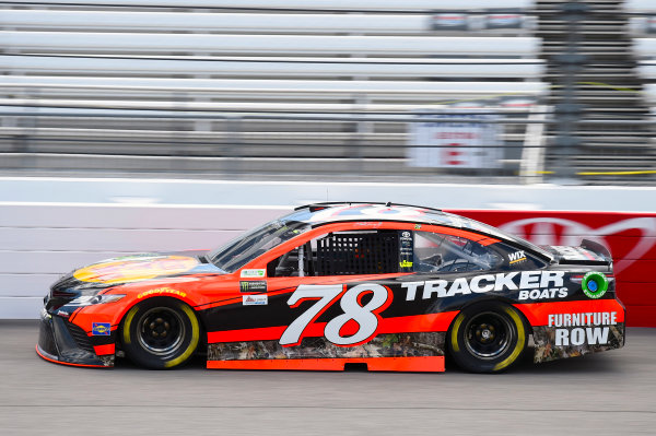 Monster Energy NASCAR Cup Series Toyota Owners 400 Richmond International Raceway, Richmond, VA USA Friday 28 April 2017 Martin Truex Jr, Furniture Row Racing, Bass Pro Shops/TRACKER BOATS Toyota Camry World Copyright: Nigel Kinrade LAT Images ref: Digital Image 17RIC1nk00795