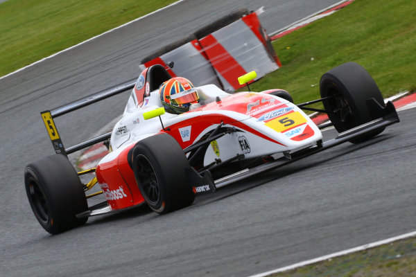 2017 British F4 Championship Oulton Park, 20th-21st May 2017, Oliver York (GBR) Fortec Motorsports British F4 World copyright. JEP/LAT Images