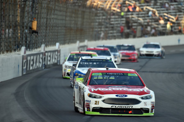 Monster Energy NASCAR Cup Series AAA Texas 500 Texas Motor Speedway Fort Worth, TX USA Sunday 5 November 2017 Ryan Blaney, Wood Brothers Racing, Motorcraft/Quick Lane Tire & Auto Center Ford Fusion World Copyright: John K Harrelson LAT Images