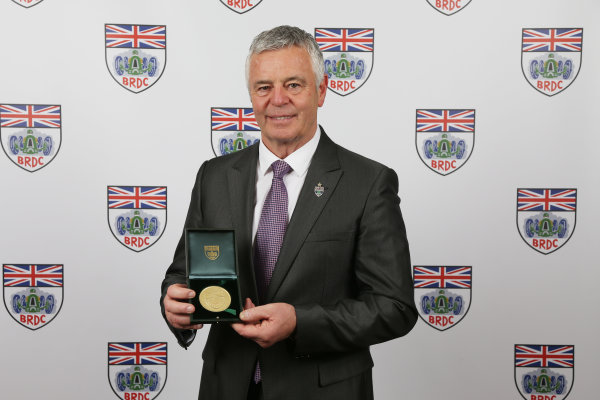2017 British Racing Drivers Club Awards. London Hilton Hotel, Park Lane, London. Monday 4th December 2017. Derek Warwick. World Copyright: Jakob Ebrey / LAT Images. Ref: Warwick-01