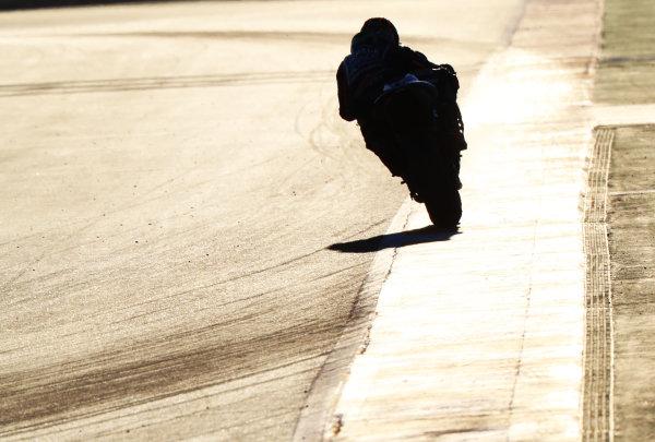 2017 MotoGP Championship - Valencia test, Spain. Tuesday 14 November 2017 Maverick Viñales, Yamaha Factory Racing World Copyright: Gold and Goose / LAT Images ref: Digital Image 706894