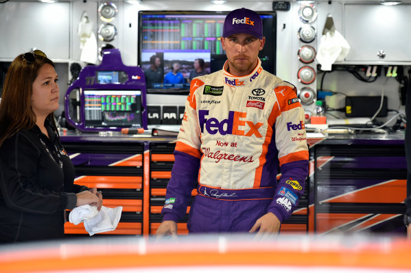 Monster Energy NASCAR Cup Series First Data 500 Martinsville Speedway, Martinsville VA USA Saturday 28 October 2017 Denny Hamlin, Joe Gibbs Racing, FedEx Walgreens Toyota Camry World Copyright: Scott R LePage LAT Images ref: Digital Image lepage-171028-mart-3759