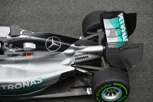 Nico Rosberg (GER) Mercedes AMG F1 W05 rear. Formula One Testing, Jerez, Spain, Day Four, Friday 31 January 2014.