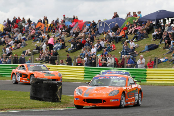 2015 Ginetta GT4 Supercup, Croft, 27th-28th June 2015,  xxxxxxxxxxxxxxxxxx World copyright. Jakob Ebrey/LAT Photographic