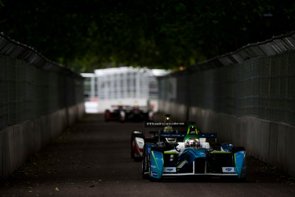 2014/2015 FIA Formula E Championship. London e-Prix, Battersea Park, London, UK. Sunday 28 June 2015. Jarno Trulli (ITA)/Trulli Racing - Spark-Renault SRT_01E World Copyright: Zak Mauger/LAT Photographic/Formula E. ref: Digital Image _L0U9573
